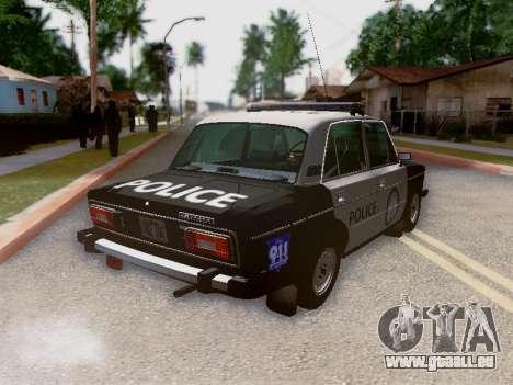 VAZ 2106 Los Santos Police pour GTA San Andreas