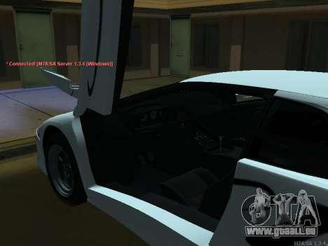 Lamborghini Diablo SV v2 pour GTA San Andreas vue arrière