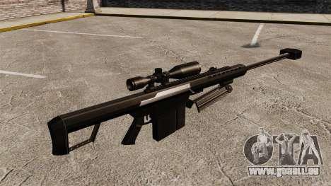 Le Barrett M82 sniper rifle v2 pour GTA 4 secondes d'écran