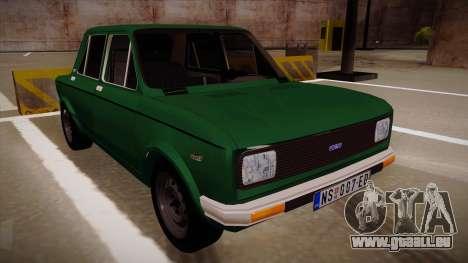 Zastava 128 1995 pour GTA San Andreas vue de droite