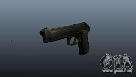 Beretta M9 pistolet pour GTA 4