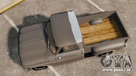 Chevrolet C-10 Stepside v2 pour GTA 4 est un droit