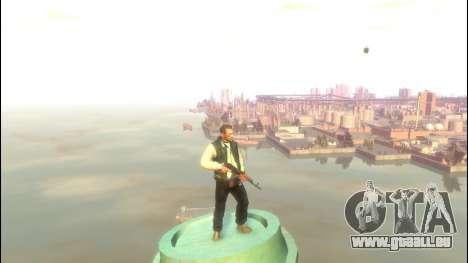 AKS-47 für GTA 4 dritte Screenshot