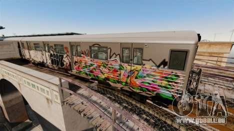 Neue U-Bahn-Graffiti für v3 für GTA 4