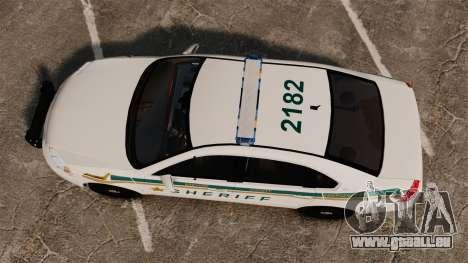 Chevrolet Impala BCSD 2010 [ELS] pour GTA 4 est un droit