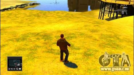 GTA V Radar pour GTA 4 secondes d'écran