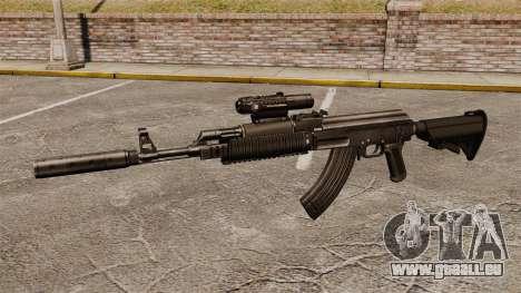AK-47 (Taktische) für GTA 4 dritte Screenshot