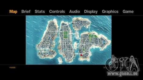 Map-Radar-HUD Pack pour GTA 4 secondes d'écran