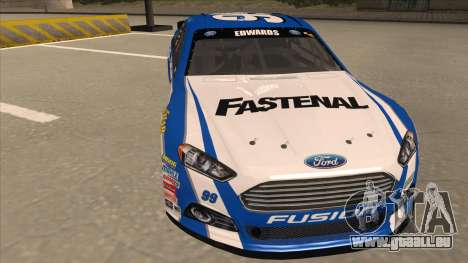 Ford Fusion NASCAR No. 99 Fastenal Aflac Subway pour GTA San Andreas laissé vue