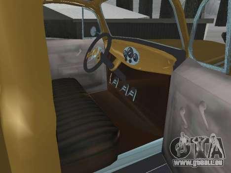 Ford Frieghter 1949 pour GTA San Andreas vue intérieure