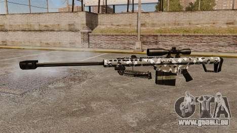 Le Barrett M82 sniper rifle v15 pour GTA 4 troisième écran