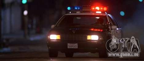Voiture de police de sirène de GTA III pour GTA San Andreas