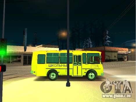 GROOVE School 32053-70 pour GTA San Andreas sur la vue arrière gauche