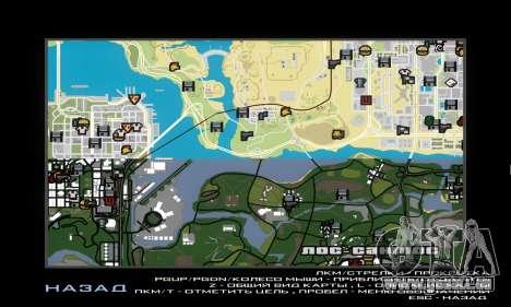 GTA V atlas map pour GTA San Andreas