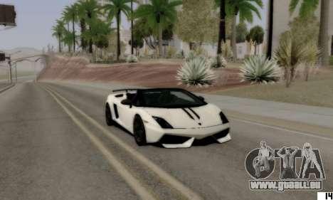 ENB VI pour les PC bas pour GTA San Andreas troisième écran