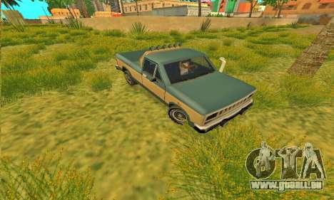 Bobcat Offroad Rüstung für GTA San Andreas