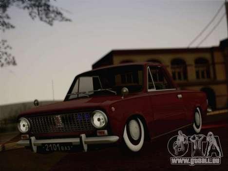 VAZ 2101 Resto pour GTA San Andreas vue intérieure