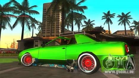 Elegy New Year for JDM pour GTA San Andreas sur la vue arrière gauche