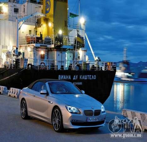 BMW-Boot-Bildschirm für GTA 4 dritte Screenshot