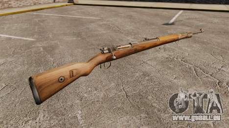 Mauser Karabiner 98 k, répétant le fusil pour GTA 4 secondes d'écran