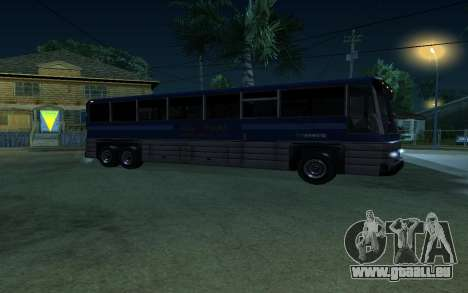 New Coach für GTA San Andreas zurück linke Ansicht