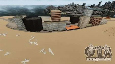 Einsame Stadt für GTA 4 Sekunden Bildschirm