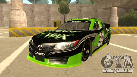 Toyota Camry NASCAR No. 30 Widow Wax für GTA San Andreas