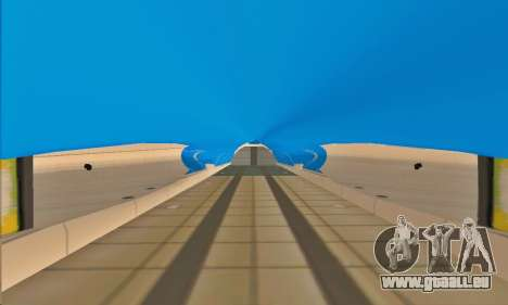 Andromada GTA V für GTA San Andreas Innen