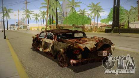 New Glenshit pour GTA San Andreas sur la vue arrière gauche