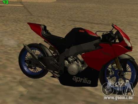 Aprilia RS50 pour GTA San Andreas laissé vue