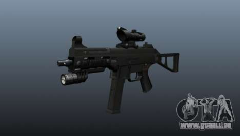 UMP45 mitraillette v1 pour GTA 4