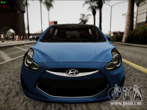 Hyundai ix20 für GTA San Andreas Innenansicht