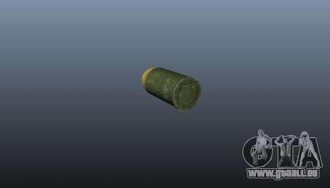 Die XM-25 Granatwerfer für GTA 4 fünften Screenshot