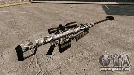 Das Barrett M82 Sniper Gewehr v15 für GTA 4 Sekunden Bildschirm