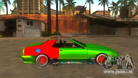 Elegy New Year for JDM pour GTA San Andreas vue intérieure