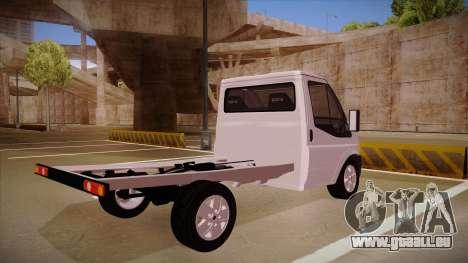 Ford Transit Drift Car pour GTA San Andreas vue de droite