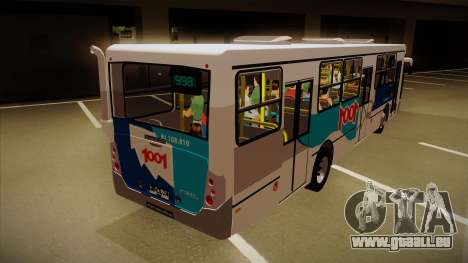 Busscar Urbanuss Pluss 2009 pour GTA San Andreas vue de droite