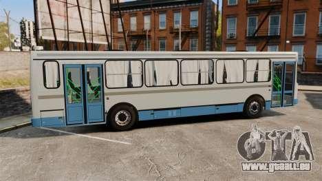 LIAZ-5256 45-01 pour GTA 4 est une gauche