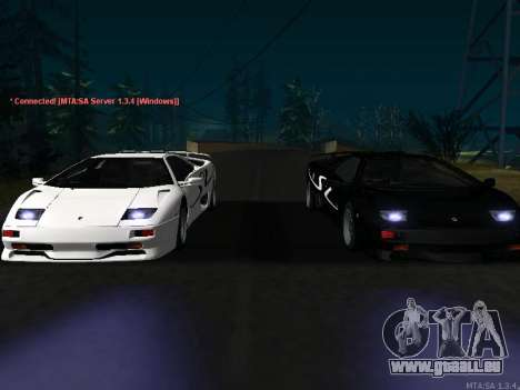 Lamborghini Diablo SV v2 für GTA San Andreas