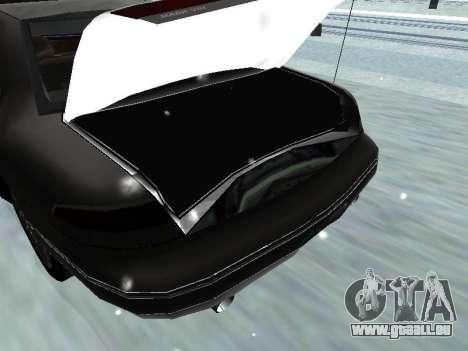 Lincoln Continental Mark VIII 1996 für GTA San Andreas obere Ansicht