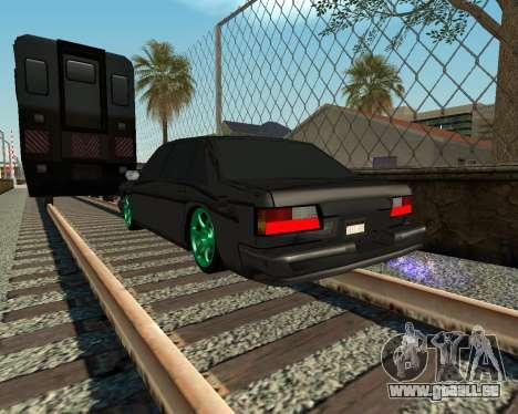 Tonique Premier V2 pour GTA San Andreas vue de droite