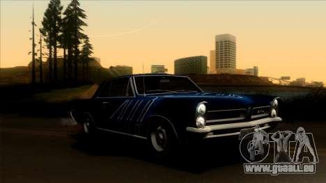 Pontiac Tempest LeMans GTO Hardtop Coupe 1965 pour GTA San Andreas salon