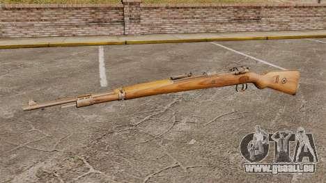 Mauser Karabiner 98 k Gewehr zu wiederholen für GTA 4 dritte Screenshot