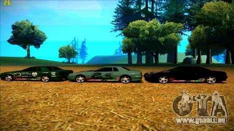 New paintjob for Elegy pour GTA San Andreas