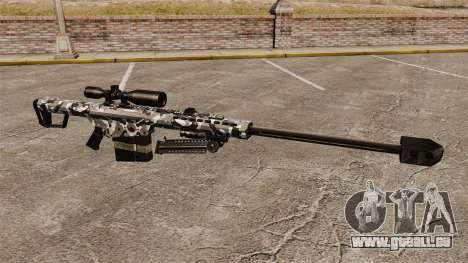 Le Barrett M82 sniper rifle v15 pour GTA 4