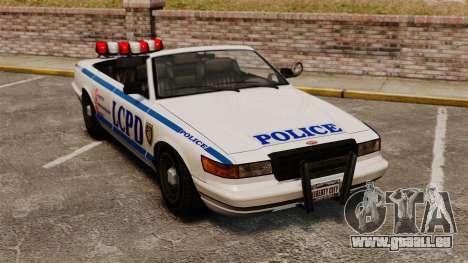 La version cabriolet de la Police pour GTA 4