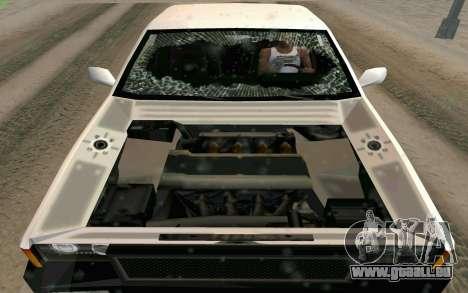 Blista Compact Type R für GTA San Andreas obere Ansicht