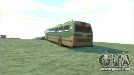Bus von GTA 5 für GTA 4 hinten links Ansicht