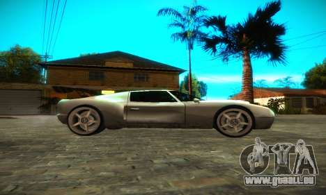 Bullet GT32 Big Spoiler für GTA San Andreas linke Ansicht