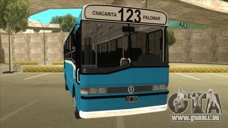 Mercedes-Benz OHL-1320 Linea 123 pour GTA San Andreas laissé vue